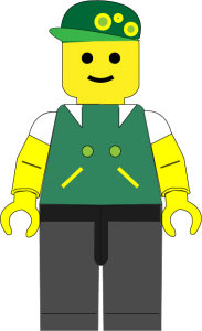 Legomand-nova Green
